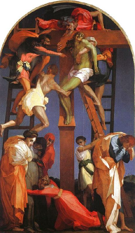 Rosso Fiorentino Deposition from the Cross France oil painting art