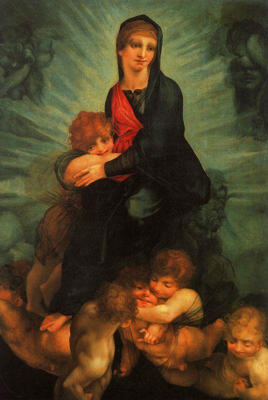 Rosso Fiorentino Madonna in Glory France oil painting art