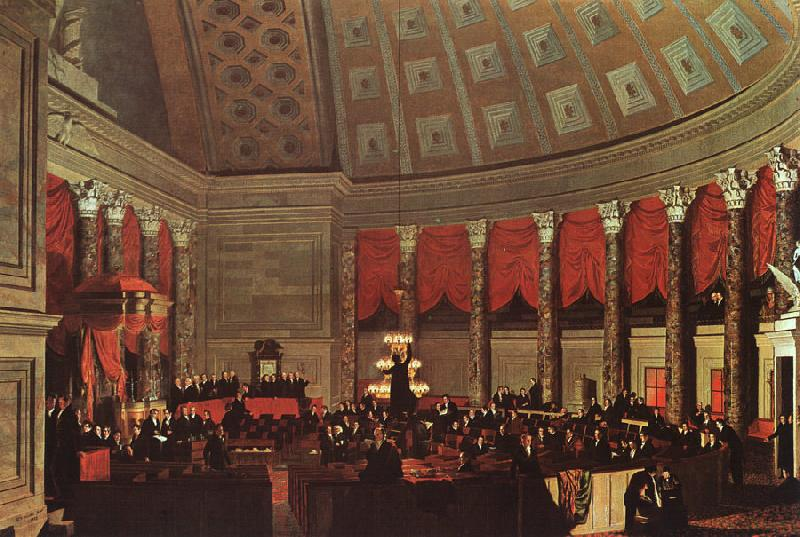 Samuel Finley Breese Morse Congress Hall France oil painting art