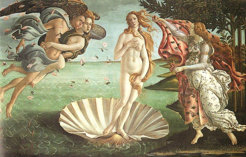 Sandro Botticelli The Birth of Venus oil painting image