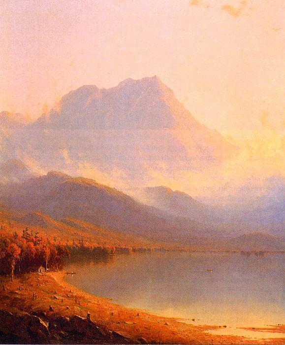 Sanford Robinson Gifford Morning in the Adirondacks France oil painting art