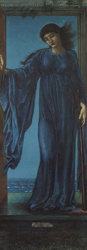 Sir Edward Coley Burne-Jones Night oil painting image