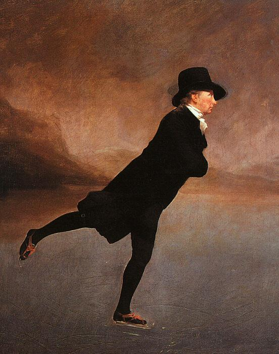 Sir Henry Raeburn The Reverend Robert Walker Skating France oil painting art