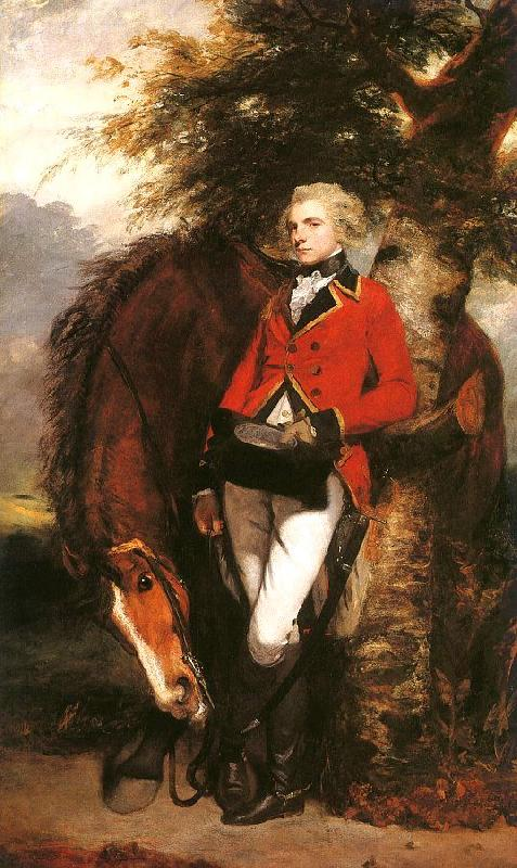 Sir Joshua Reynolds Colonel George K.H. Coussmaker France oil painting art