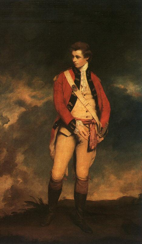 Sir Joshua Reynolds Colonel St.Leger France oil painting art