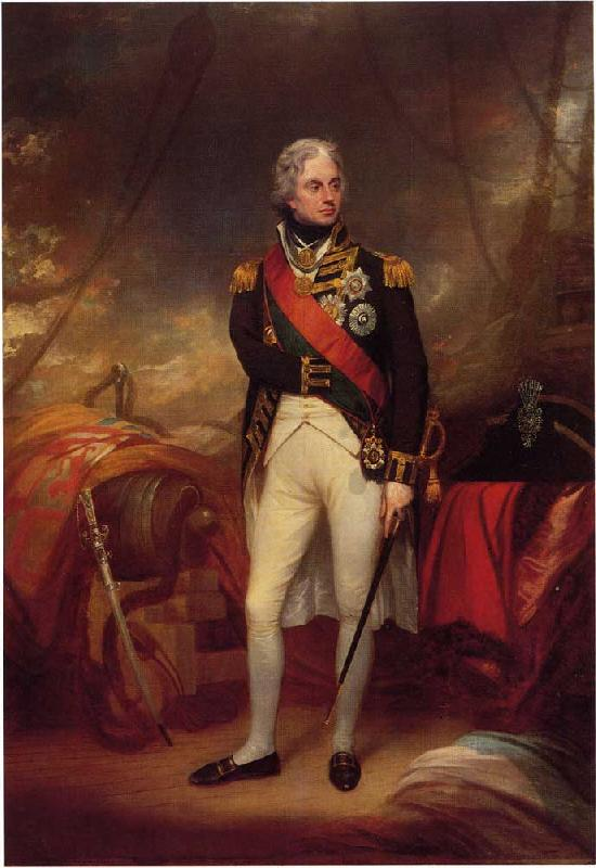 Sir William Beechey Horatio Viscount Nelson oil painting image