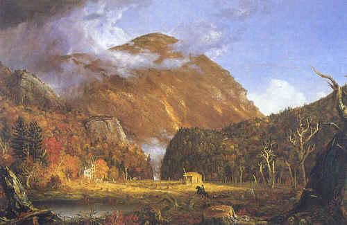 Thomas Cole Notch of White Mountins France oil painting art