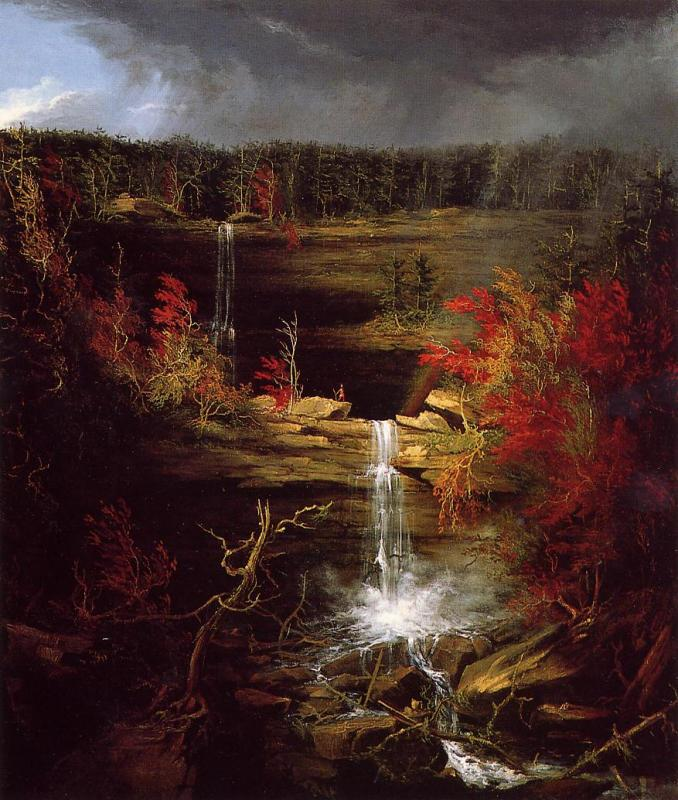 Thomas Cole Falls of Kaaterskill oil painting image
