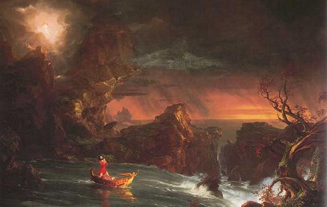 Thomas Cole The Voyage of Life: Manhood France oil painting art