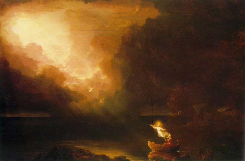 Thomas Cole The Voyage of Life: Old Age France oil painting art