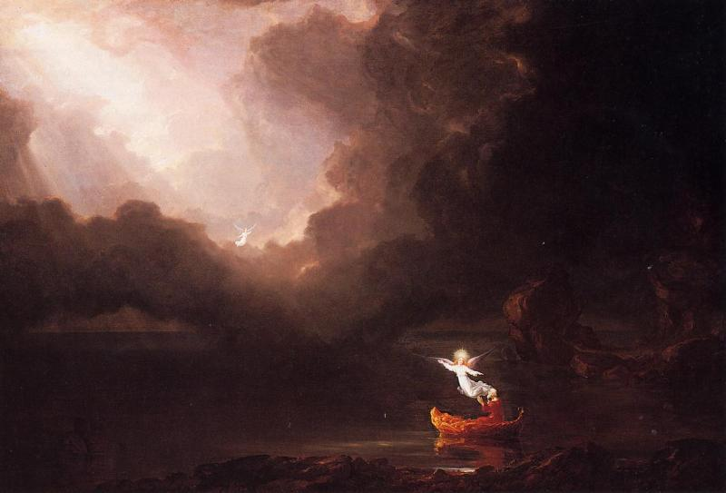 Thomas Cole Voyage of Life Old Age oil painting image
