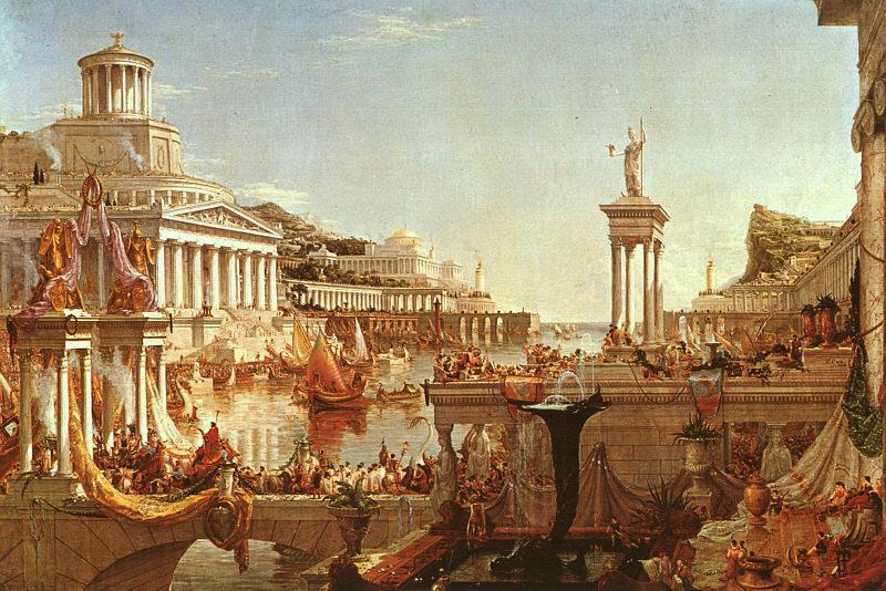 Thomas Cole The Consummation from the series : The Course of the Empire France oil painting art