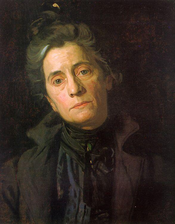 Thomas Eakins Portrait of Susan Macdowell Eakins France oil painting art