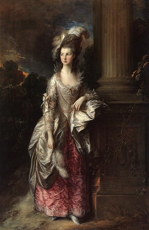 Thomas Gainsborough The Honorable Mrs Graham oil painting image