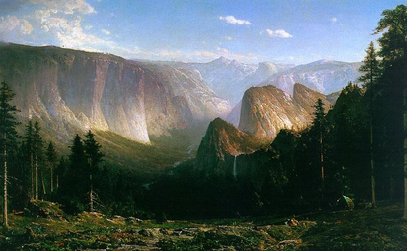 Thomas Hill Grand Canyon of the Sierras, Yosemite France oil painting art