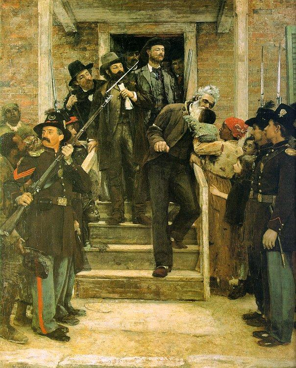 Thomas Hovenden The Last Moments of John Brown France oil painting art