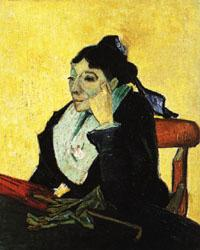 Vincent Van Gogh The Woman of Arles(Madame Ginoux) oil painting image