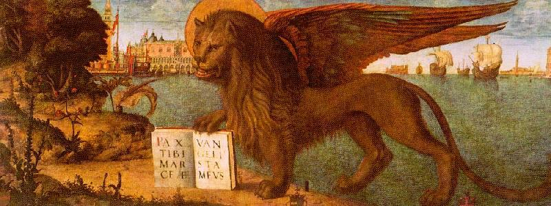 Vittore Carpaccio The Lion of St.Mark oil painting image