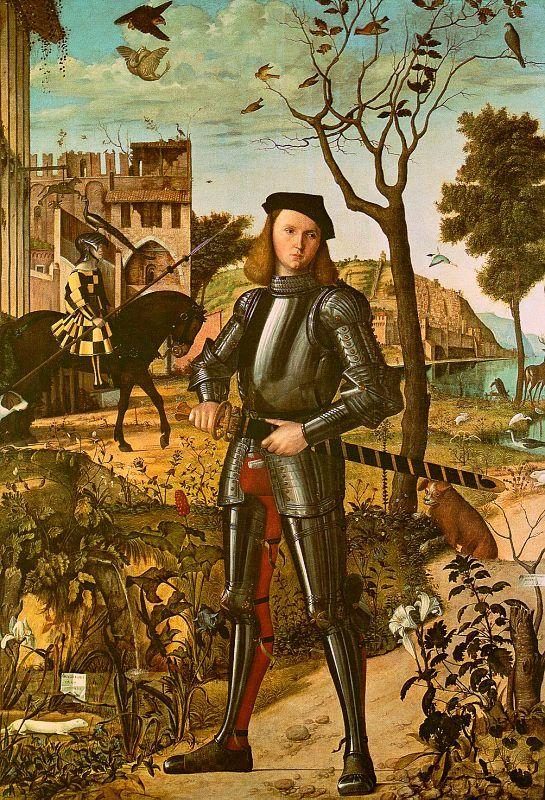 Vittore Carpaccio Portrait of a Knight oil painting image