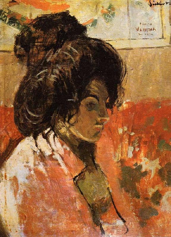 Walter Sickert La Giuseppina France oil painting art