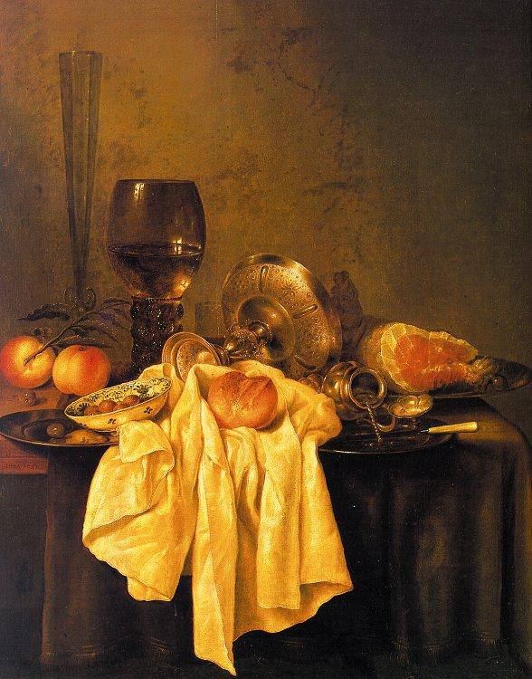 Willem Claesz Heda Still Life 001 oil painting image