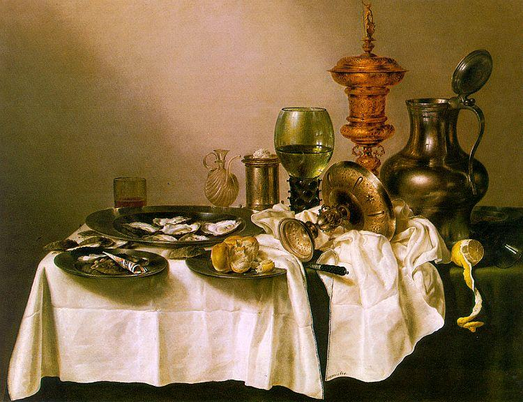 Willem Claesz Heda Still Life with a Gilt Goblet oil painting image
