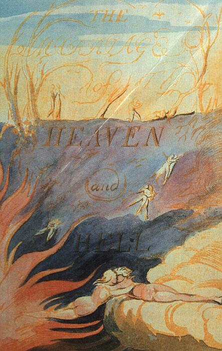 William Blake The Marriage of Heaven and Hell oil painting image