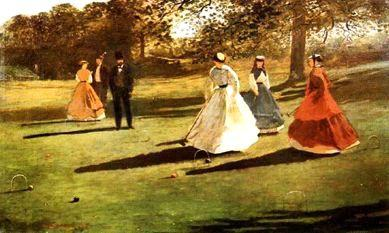 Winslow Homer Croquet Players France oil painting art