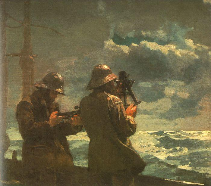 Winslow Homer Eight Bells France oil painting art