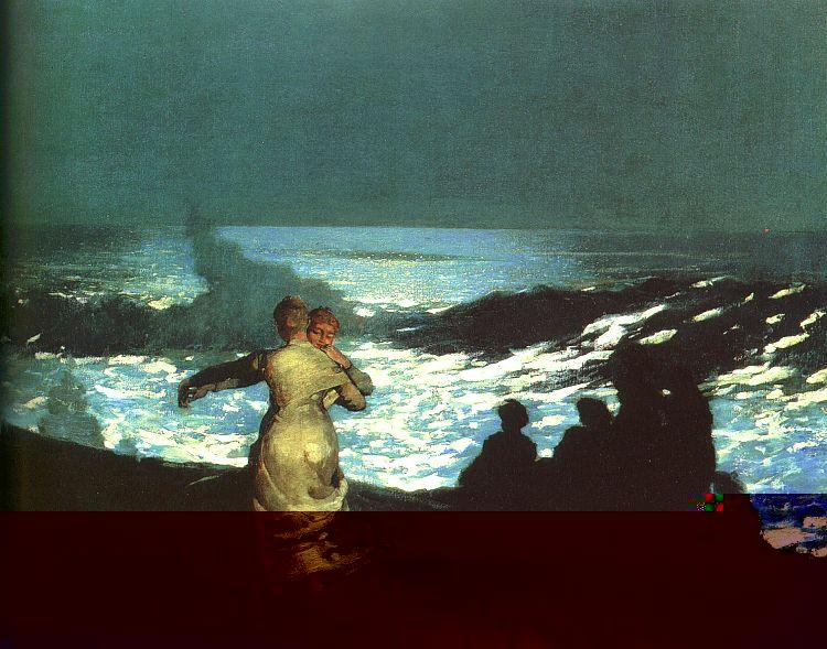 Winslow Homer Summer Night France oil painting art