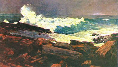 Winslow Homer Weather Beaten oil painting image