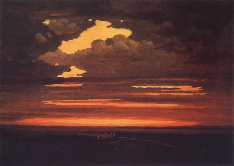 Arkhip Ivanovich Kuindzhi Cloud oil painting picture