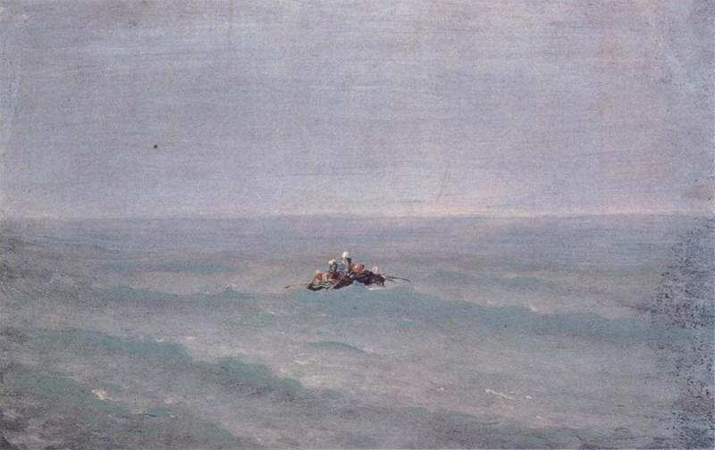 Arkhip Ivanovich Kuindzhi The Boat on the sea oil painting picture