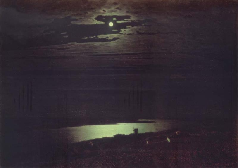Arkhip Ivanovich Kuindzhi Dnieper-s Moonlight oil painting picture