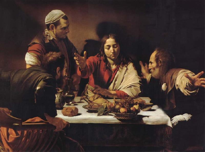 Caravaggio The Supper at Emmaus oil painting picture