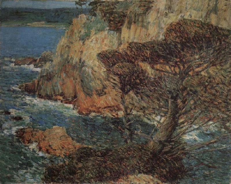 Childe Hassam Point Lobos Carmel oil painting image