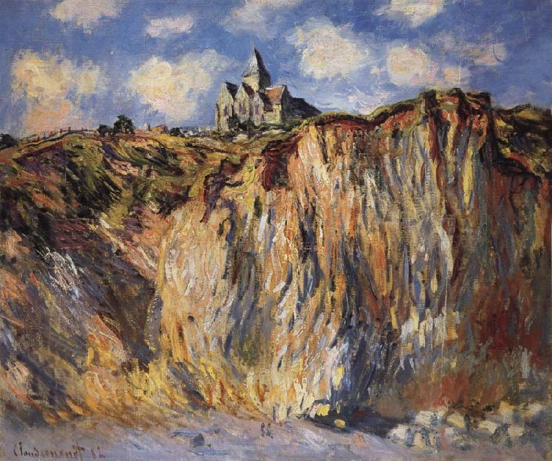 Claude Monet The Church at Varengeville,Morning Effect oil painting picture