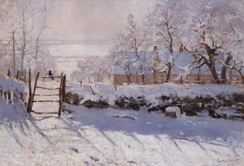 Claude Monet The Magpie oil painting picture