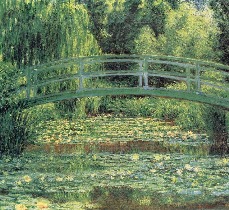 Claude Monet Le Pont japonais et L-Etang des Nympheas,Giverny oil painting picture