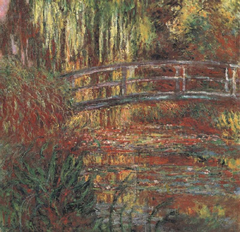 Claude Monet Fardin et Pont Japonais oil painting picture