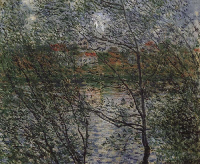 Claude Monet Springtime through the Branches oil painting picture