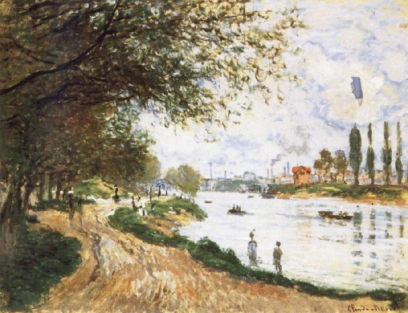 Claude Monet The Isle La Grande Jatte oil painting picture