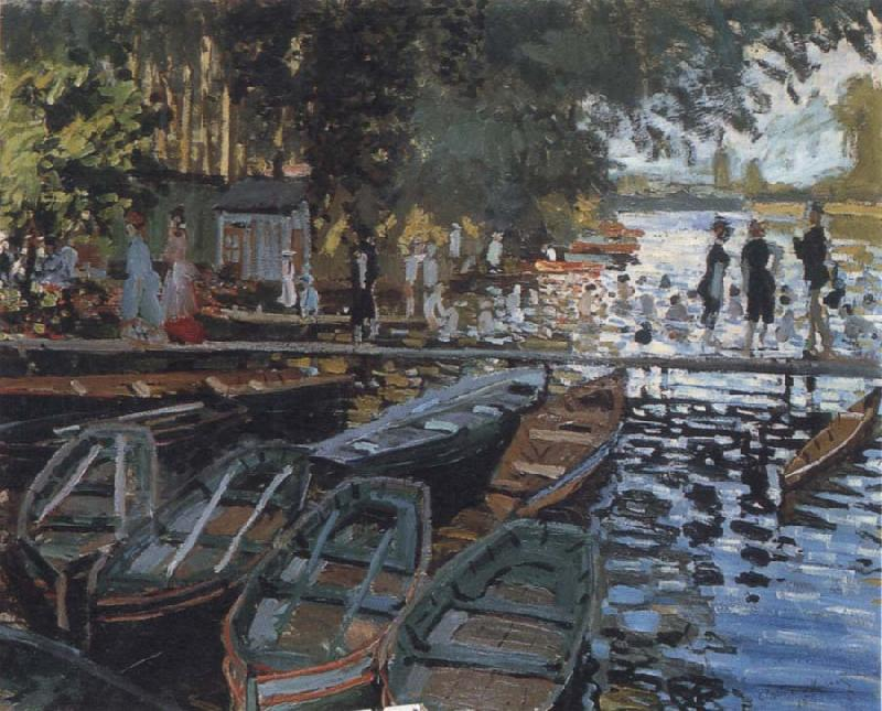 Claude Monet Bathers at La Grenouillere oil painting picture