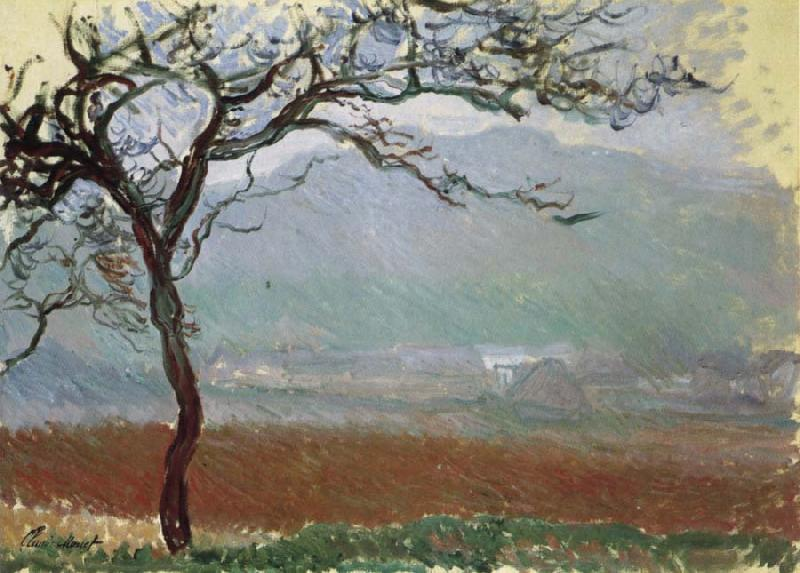 Claude Monet Landscape at Giverny oil painting picture