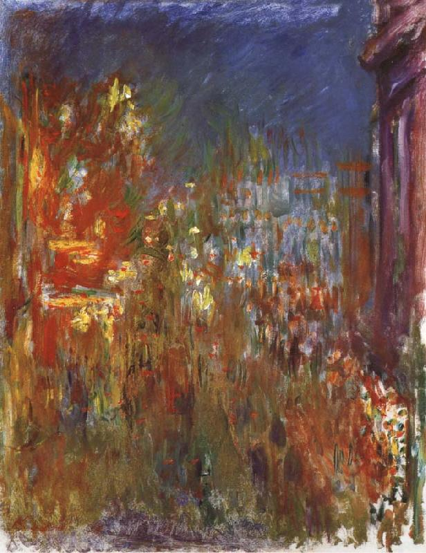 Claude Monet Leicester Square at Night oil painting picture