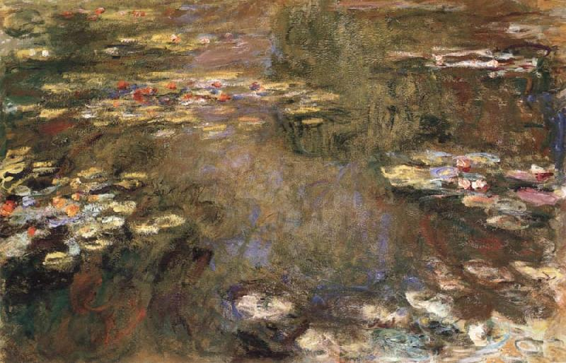 Claude Monet The Water-Lily Pond oil painting picture