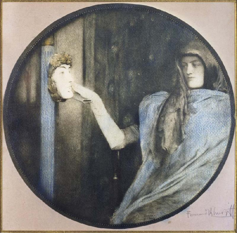 Fernand Khnopff Secret oil painting picture
