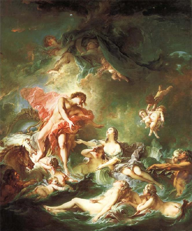 Francois Boucher The Setting of The Sun oil painting picture