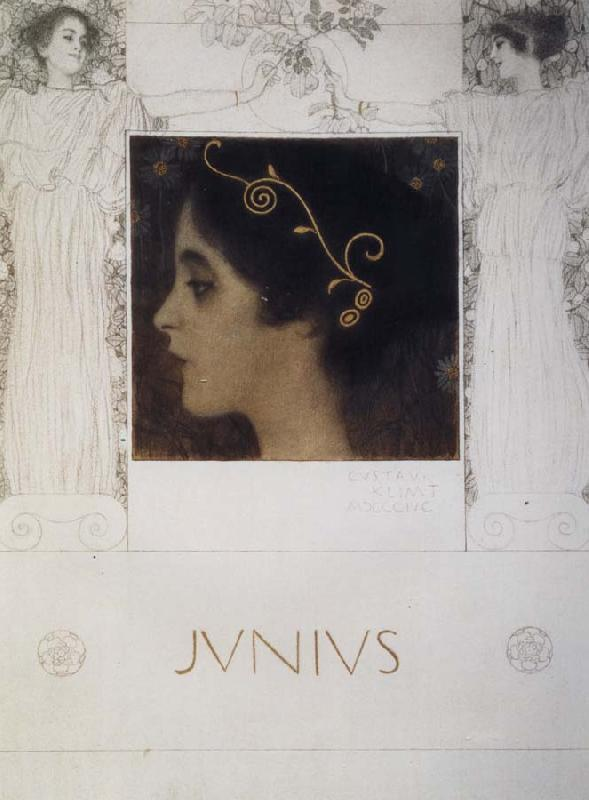 Gustav Klimt Junius oil painting picture