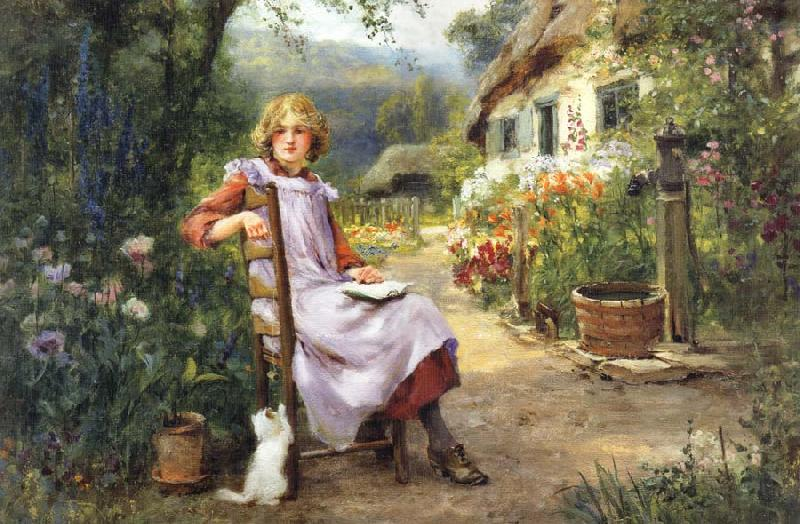 Henry John Yeend King In the Garden oil painting picture